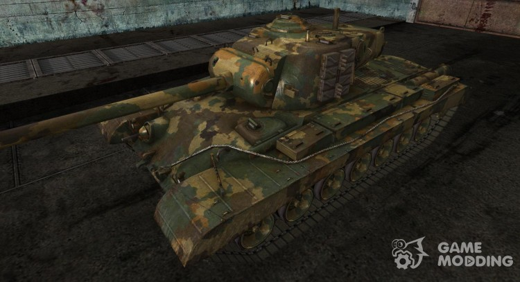 Skin for T32 Temperate Ghost for World Of Tanks