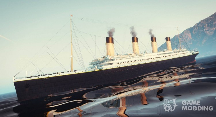 1912 the RMS Titanic for GTA 5