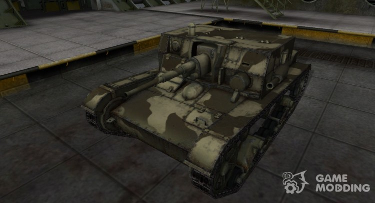 Desert skin for at-1 for World Of Tanks