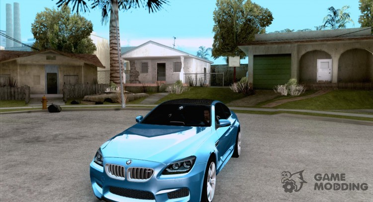 BMW M6 Coupe 2013 for GTA San Andreas