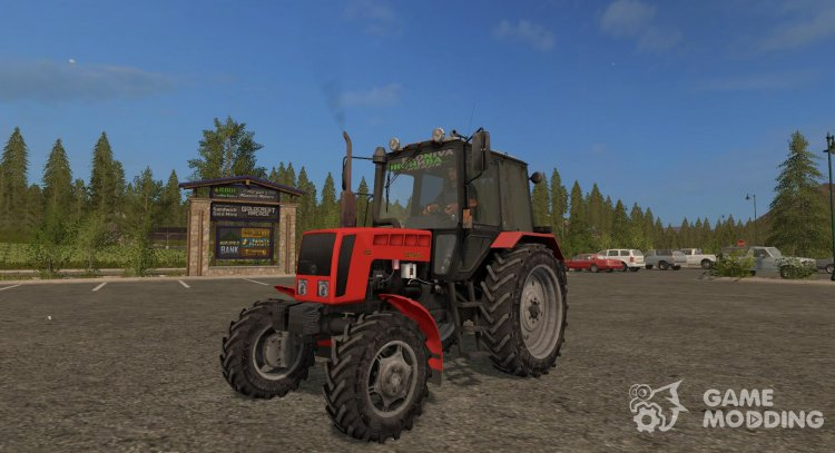 Mod MTZ-82.1 version 1.0 for Farming Simulator 2017
