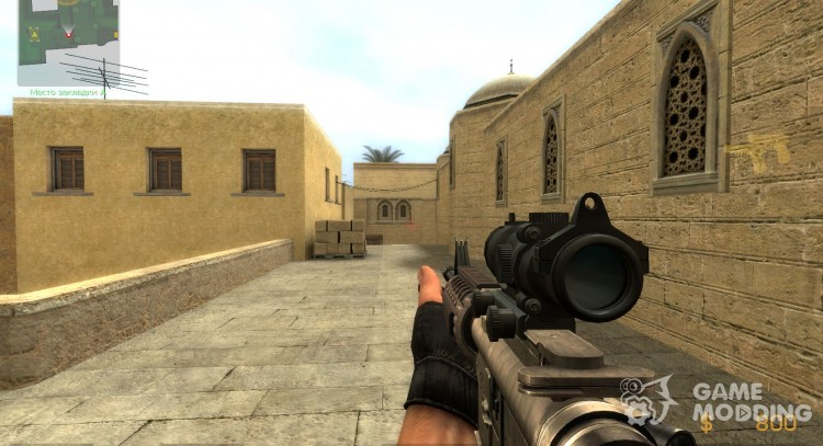 M4A1 like bf3 for Counter-Strike Source