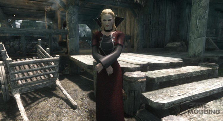Queen of the Damned Dress for TES V: Skyrim