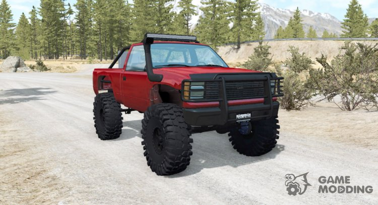 Gavril D-Series off-road v1.5 for BeamNG.Drive