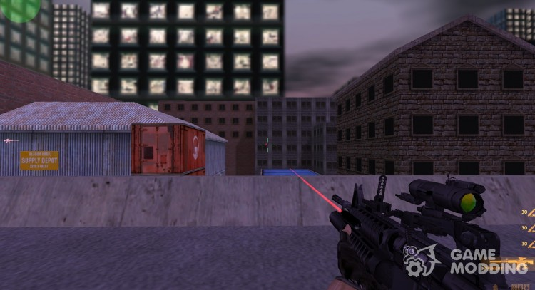 Assault M4A1 for Counter Strike 1.6