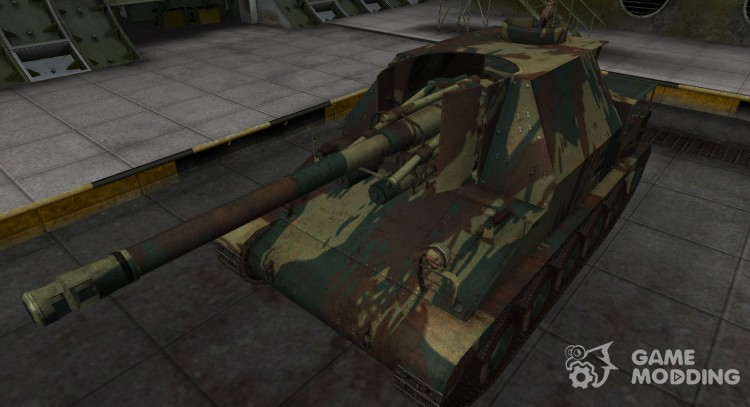 French new skin for Lorraine 155 mle. 50 for World Of Tanks