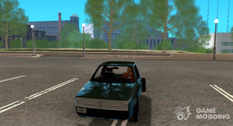 Volkswagen Golf II Cut Edition for GTA San Andreas