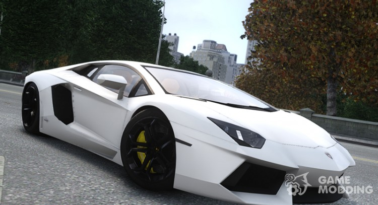 Lamborghini Aventador LP700-4 2012 v2.0 for GTA 4