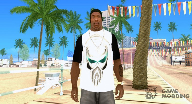 T-shirt in the style of a Pirate Station for GTA San Andreas