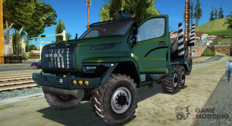 Ural Timber Next IVF for GTA San Andreas