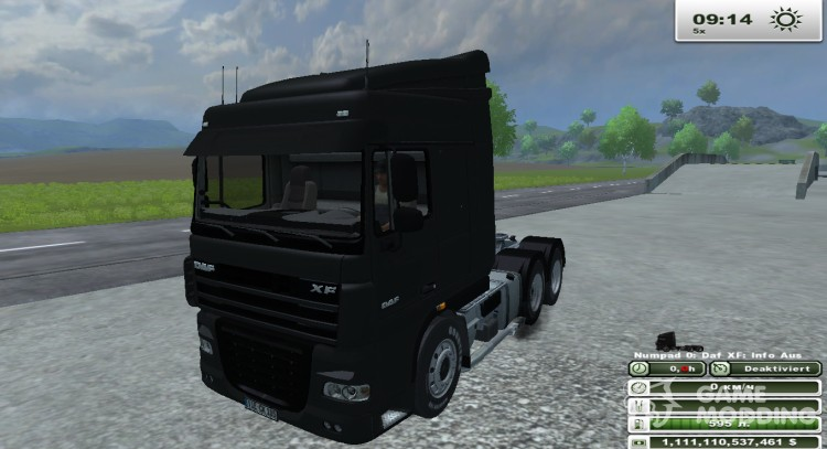 DAF XF 105 510 v 1.1 for Farming Simulator 2013