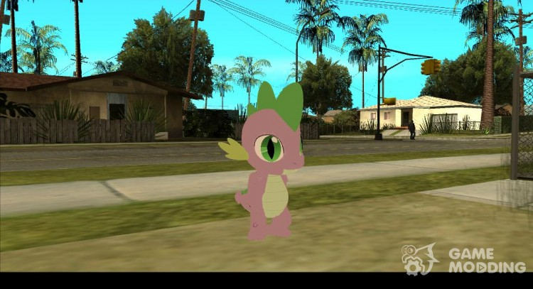 Spike (My Little Pony) для GTA San Andreas