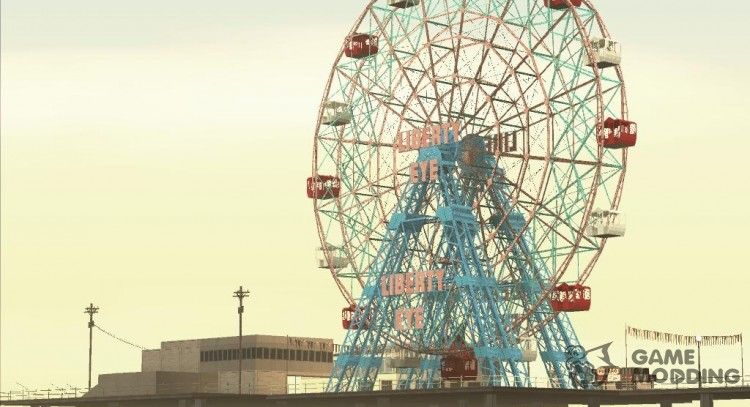 GTA IV Ferris Wheel Liberty Eye