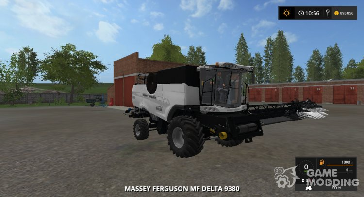 Massey Ferguson 9380 Delta v1.0 Multicolor for Farming Simulator 2017