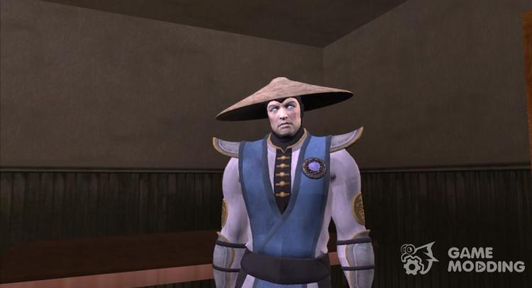 Raiden (Mortal Kombat 9) for GTA San Andreas