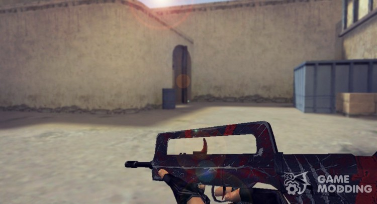 Famas Survivor Z Retexture for Counter Strike 1.6