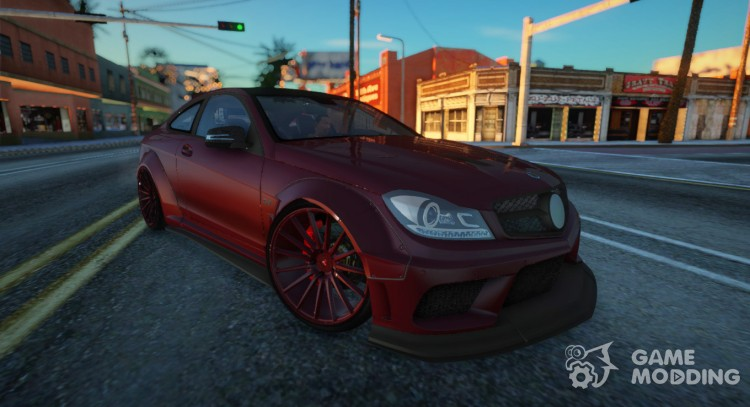 2014 Mercedes-Benz C63 AMG Coupe Black Series Liberty Walk for GTA San Andreas