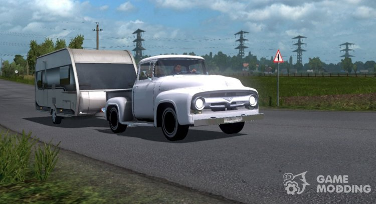 Ford F-100 for Euro Truck Simulator 2