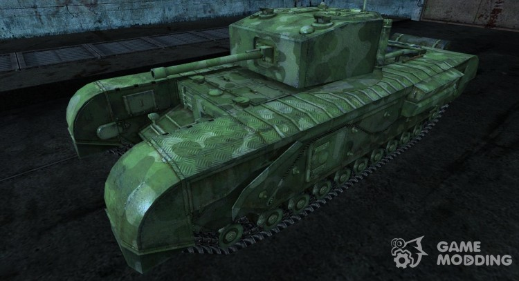 Churchill Rudy_102 for World Of Tanks