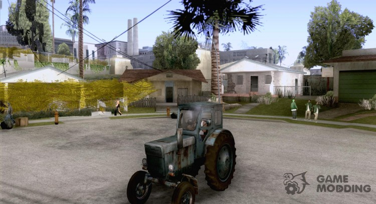Tractor Т-40М for GTA San Andreas