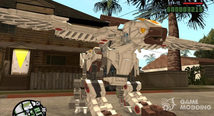 Griffin (Zoids) для GTA San Andreas