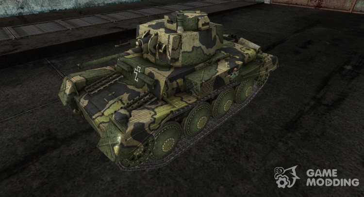 Skin for the Panzer 38 NA for World Of Tanks