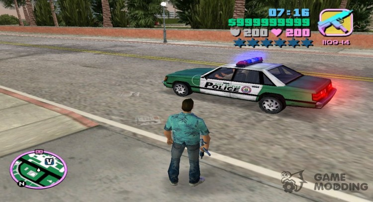 Call special services for GTA Vice City