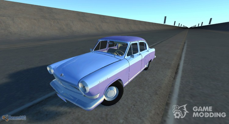 Gaz-21 Volga for BeamNG.Drive
