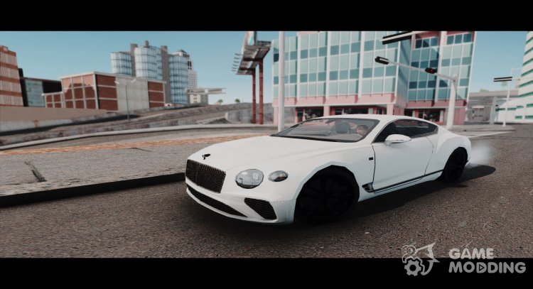 2018 Bentley Continental GT First Edition for GTA San Andreas