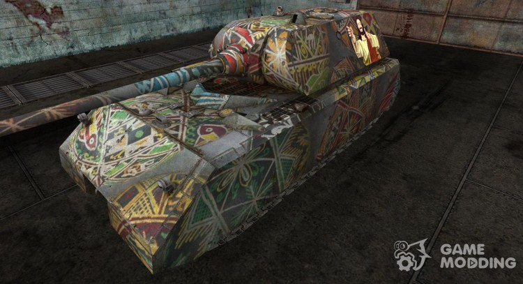 Easter Maus for World Of Tanks