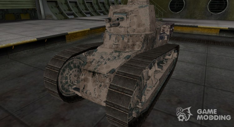 Французкий скин для Renault FT для World Of Tanks