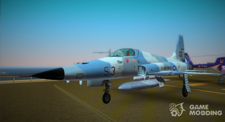 Us Air Force (Northrop F5f.) for GTA Vice City
