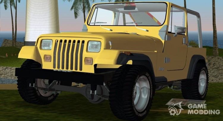 Jeep Wrangler 4.0 Fury 1986 for GTA Vice City