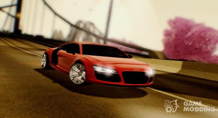 2013 Audi R8 V10 Plus 52 Fsi For Gta San Andreas