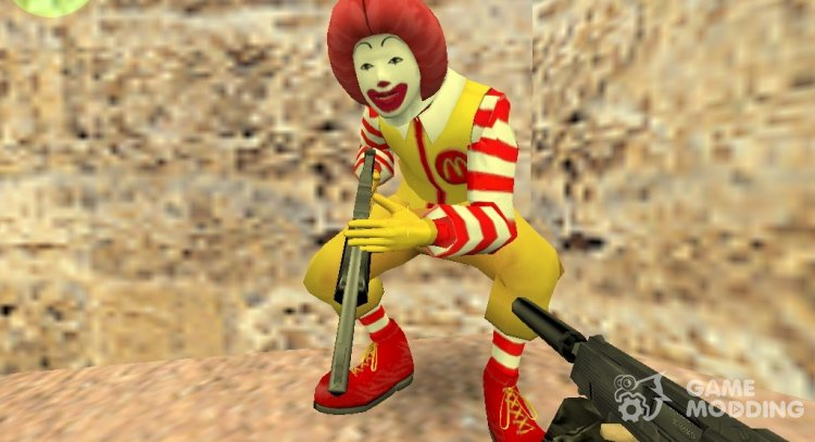 Ronald McDonald for Counter Strike 1.6