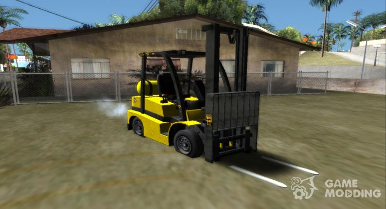 GTA V HVY Forklift (IVF) for GTA San Andreas