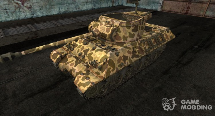 Skin to M36 Slugger No. 19 for World Of Tanks