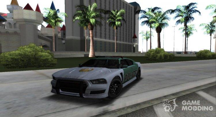GTA 5 Bravado Buffalo S Police Edition for GTA San Andreas