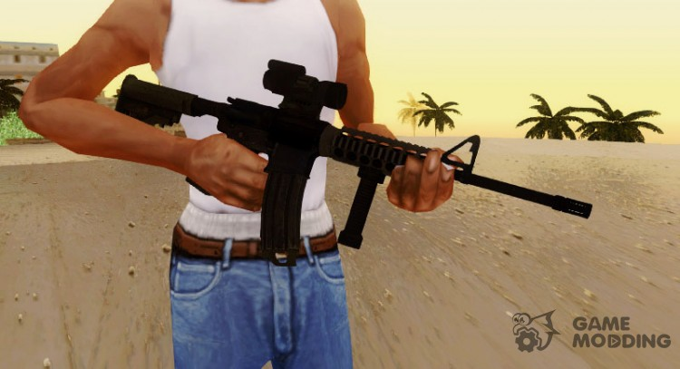 M4 Aimpoint Sight for GTA San Andreas