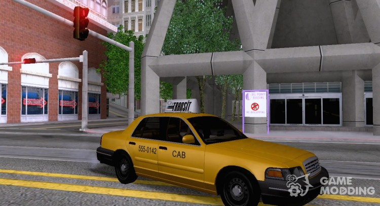 Ford Crown Victoria 2003 Taxi cab for GTA San Andreas