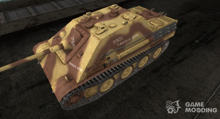 Skin for JagdPanther for World Of Tanks