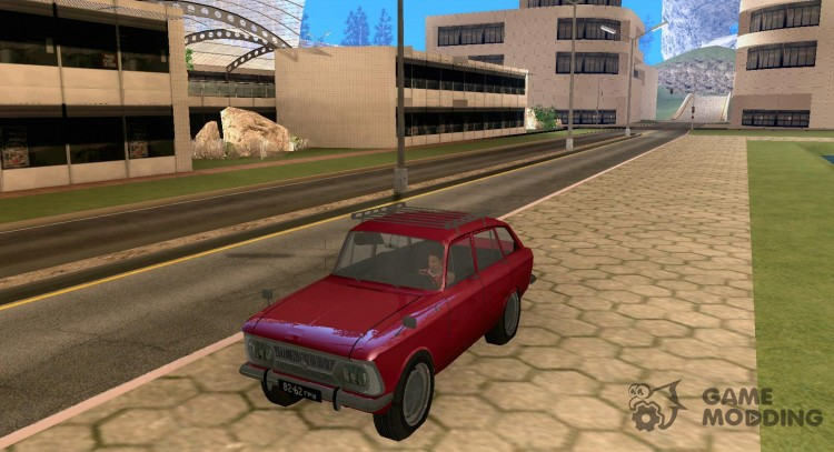 Moskvich Combi for GTA San Andreas