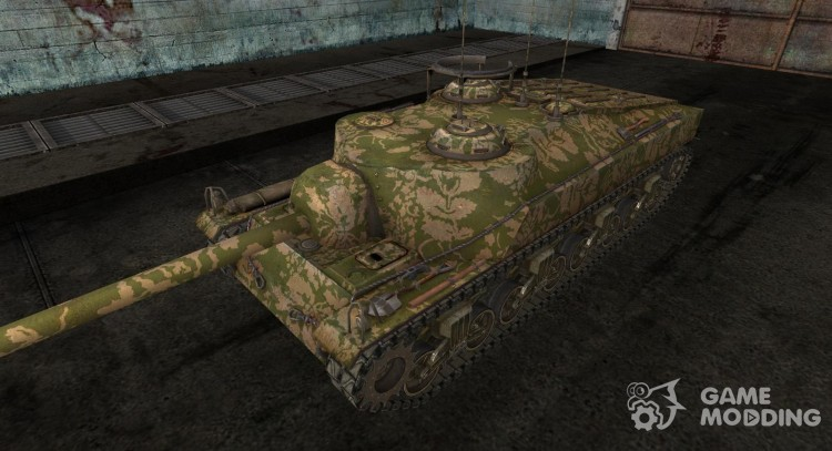 Skin for T28 No. 19 for World Of Tanks