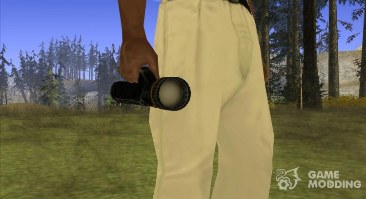 Flashlight (SH DP) for GTA San Andreas