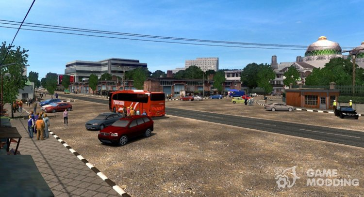 Indonesia for Euro Truck Simulator 2