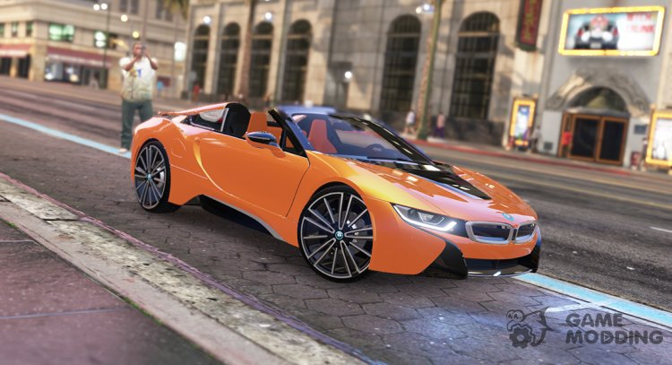 2019 BMW i8 Roadster for GTA 5