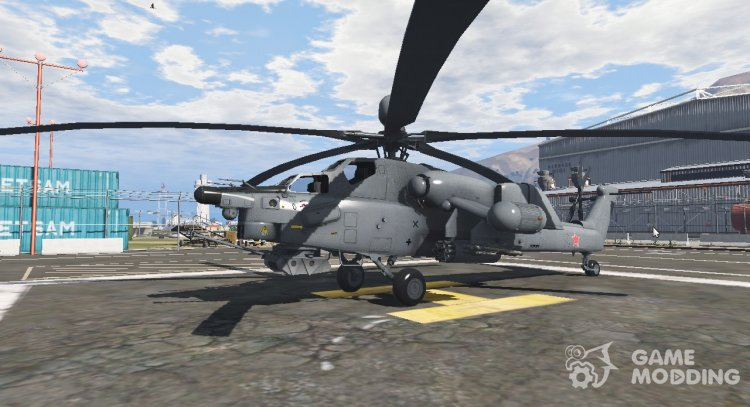Mi-28 Night Hunter 1.1 for GTA 5