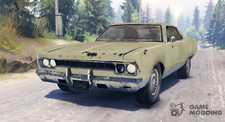 Plymouth Fury III for Spintires 2014