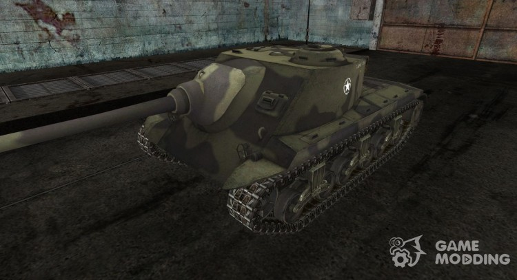 Skin for T25 AT for World Of Tanks