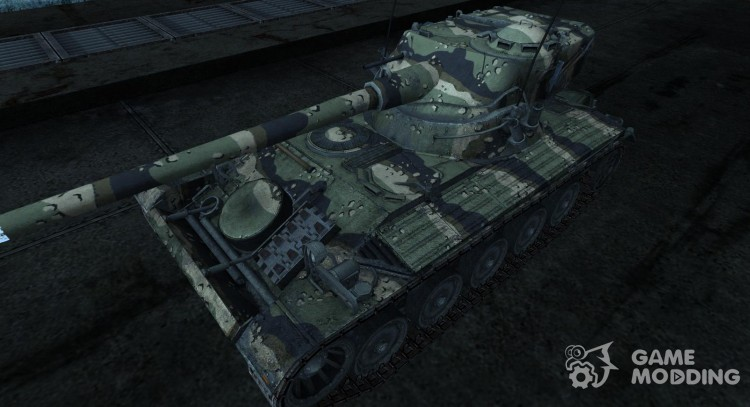 Skin for AMX 13 90 No. 27 for World Of Tanks
